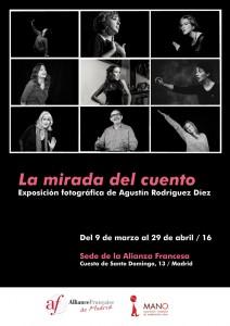 Cartel Expo MANO La Mirada del Cuento