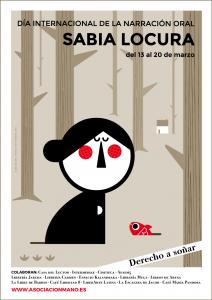 #8JornadasMANO - Sabia Locura - Cartel