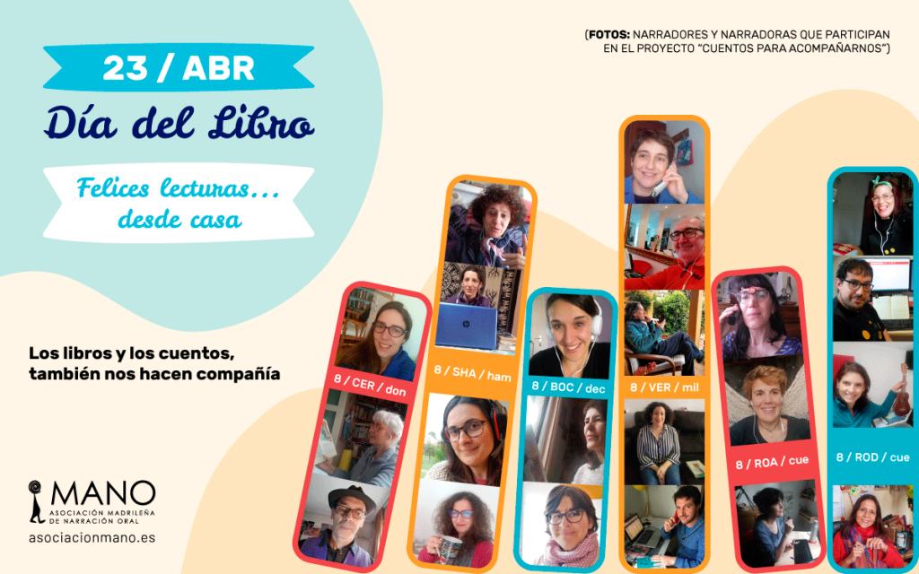 Cartel Día del Libro Asociación MANO